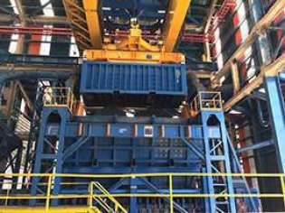 Rotainer, Container Rotation Systems, Ram Revolver, Ram Spreaders, ISG Pit to Ship