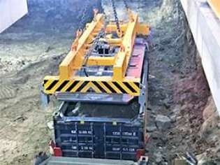 Underground, Container Handling Solutions, Underground Container Handling, Containers for Underground Use, Ram Revolver, ISG Pit to Ship, Rotabox, Rotainer